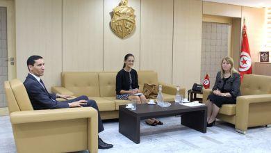 Photo of وزيرة العدل تستقبل ممثلة مكتب المفوضية السامية لحقوق الإنسان بتونس