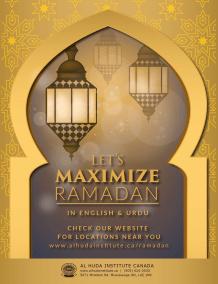 maximize ramadan-standard
