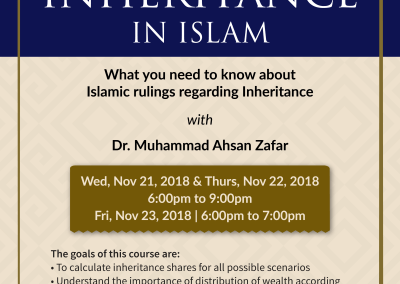 Inheritance Certificate Course
