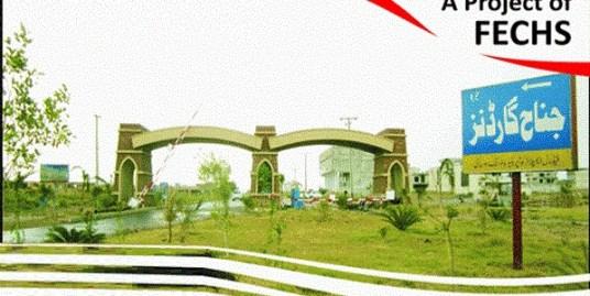 8 Marla ( 50 x 35 ) Pair of 4 Marla Commercial in Jinnah Markaz