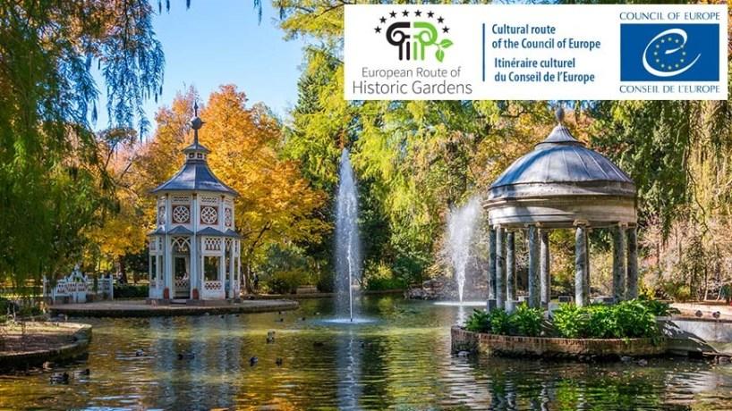 El Consejo de Europa reconoce a la Red de Jardines Históricos como itinerario cultural europeo