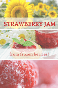 Make Strawberry Jam anytime of year!