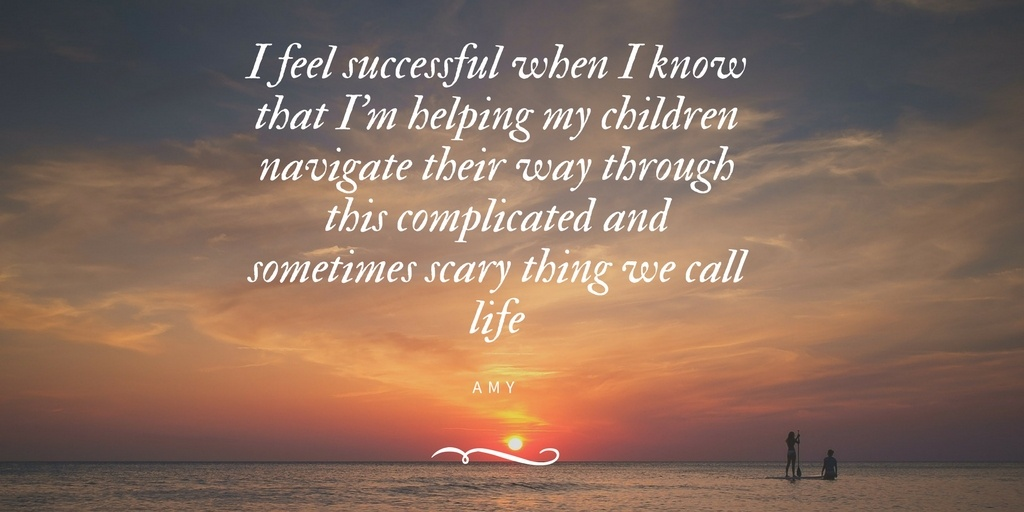 SUCCESS IS HELPING MY CHILDREN
