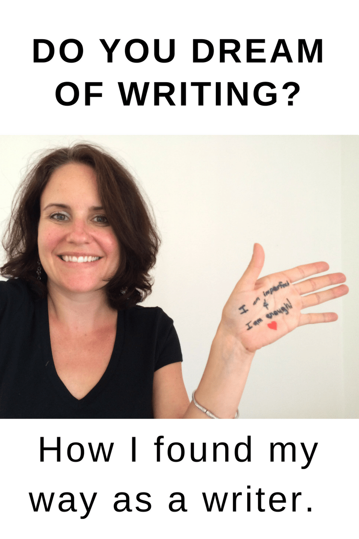 How I rediscovered my love of Writing
