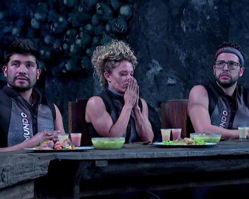 El Inframundo - 5 competidores se exponen a situaciones extremas para ver cuál de ellos supera sus miedos. Alibi Films y Televisa