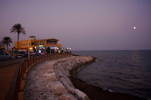Nautilius Resturaunt Punta Prima beach