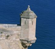 Torre de vigilancia. Castillo de Santa Bárbara