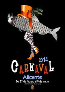 Carnaval Alicante 2014. Entierro de la Sardina