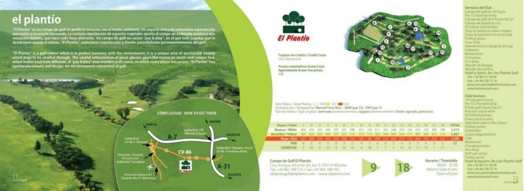 Campo de Golf El Plantio