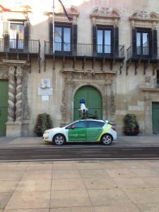 Coche Google Maps