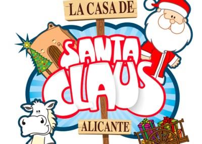 La casa de Santa Claus te espera en el Parque de La Ereta de Alicante