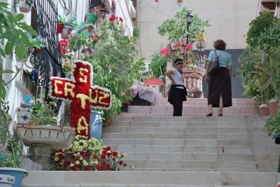 Cruces de Mayo, en Santa Cruz