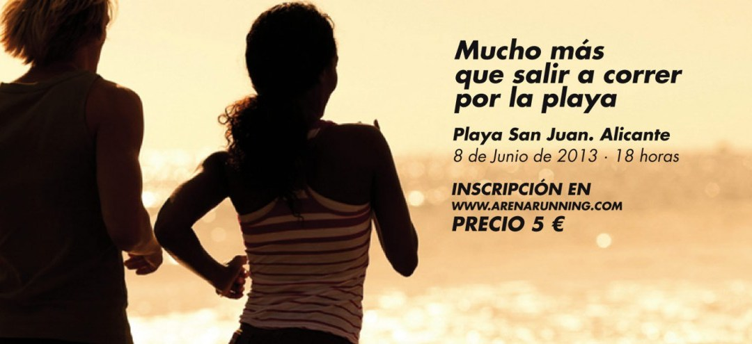 Arena Running, a correr por la playa
