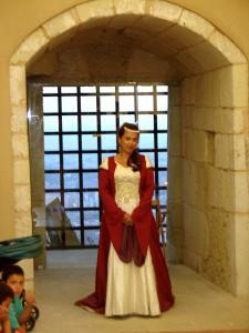 doña violante de Aragón, castillo
