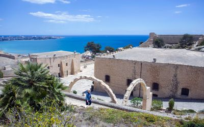 """El Castillo de Santa Bárbara acoge la exposición """"Juan Martín Zermeño, las fortificaciones abaluartadas del siglo XVIII"""""""