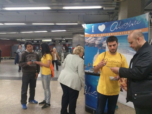 Alicante Turismo pone en marcha una campaña de captación de visitantes en Madrid