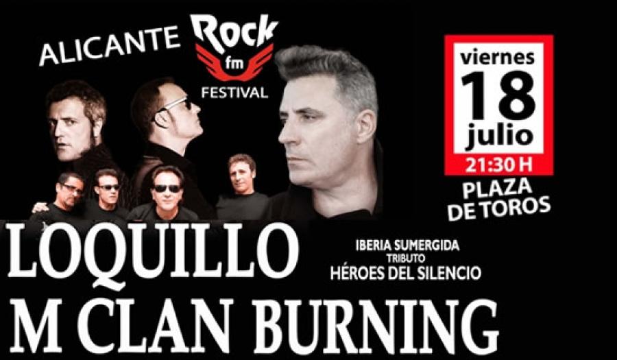 Alicante Rock FM Festival en la Plaza de Toros de Alicante