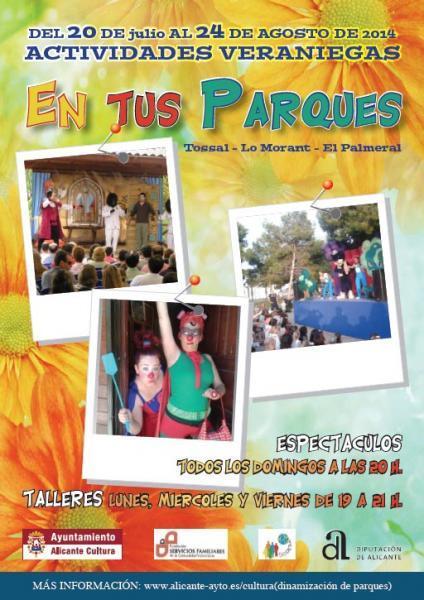 Diversión para los peques en los parques de Alicante