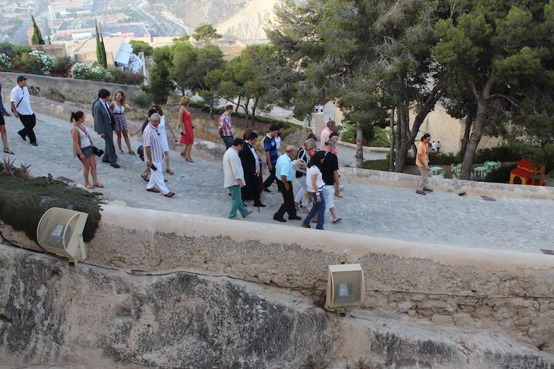 Visitas guiadas en el Castillo de Santa Bárbara hasta abril del 2016