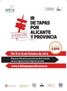 Ir de Tapas por Alicante. III Edición