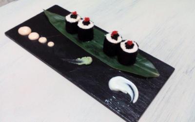Maki ensaladilla de marisco Mauro & Sensai 2015. Receta ganadora del II Campeonato Provincial de ensaladillas de GastroAlicante 2o15.