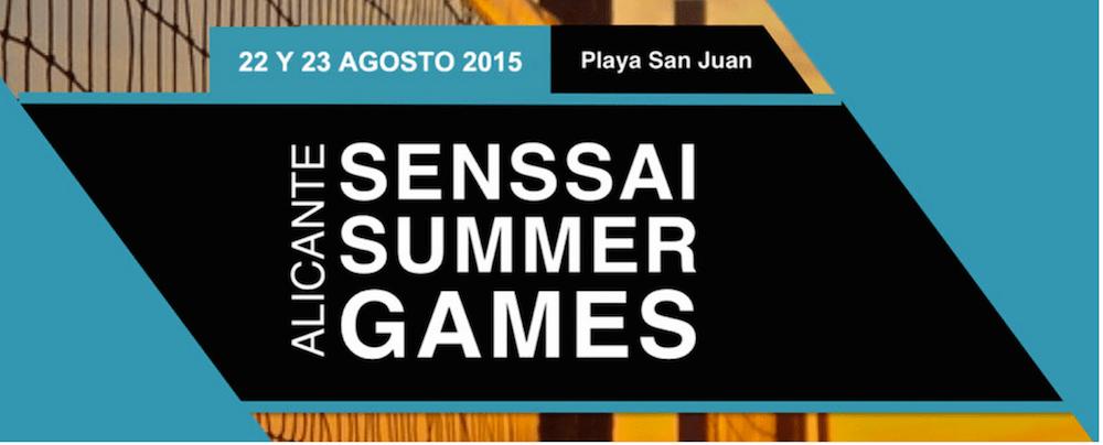 Senssai Summer Games 2015 en Playa de San Juan