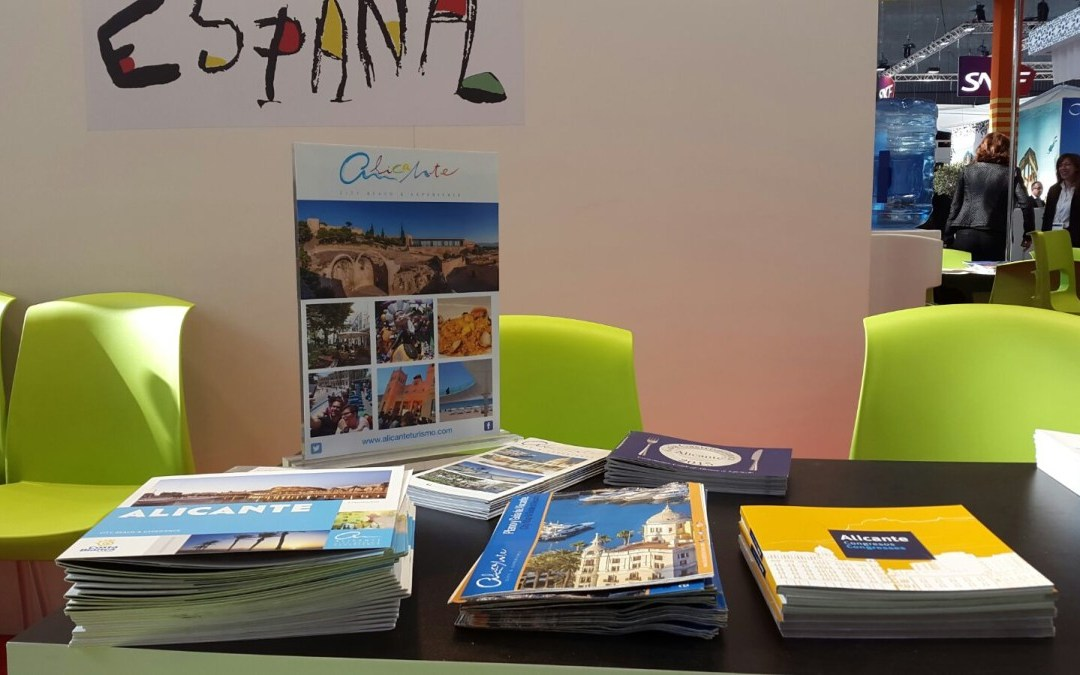 Alicante participa en la feria de turismo para profesionales International French Travel Market en París
