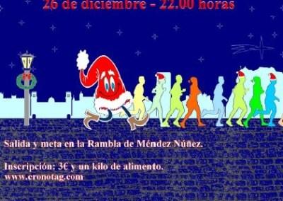 Carrera Popular Solidaria San Silvestre 2015