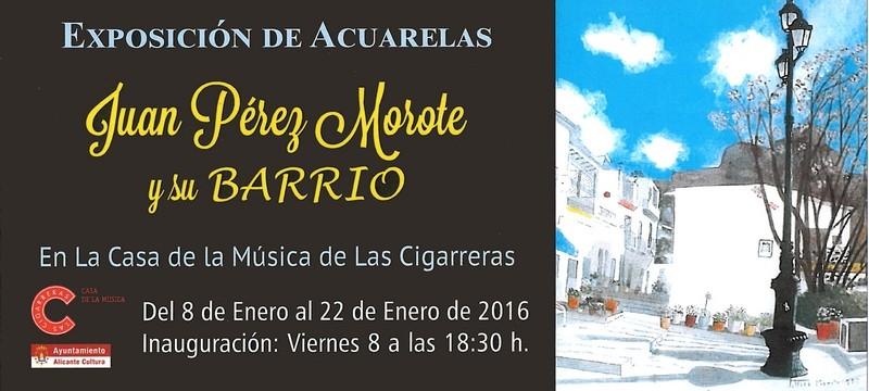 Exposición de Juan Pérez Morote en Las Cigarreras