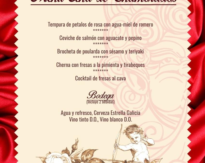 Cena de San Valentín en Eolo