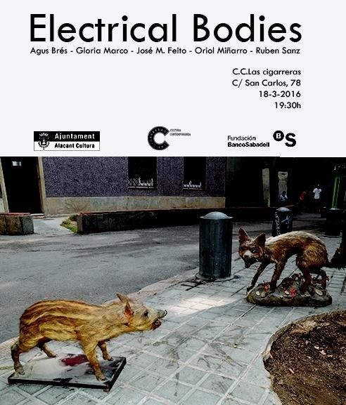 "PHOTOALICANTE. EXPOSICIÓN ""ELECTRICAL BODIES"" en Las Cigarreras"