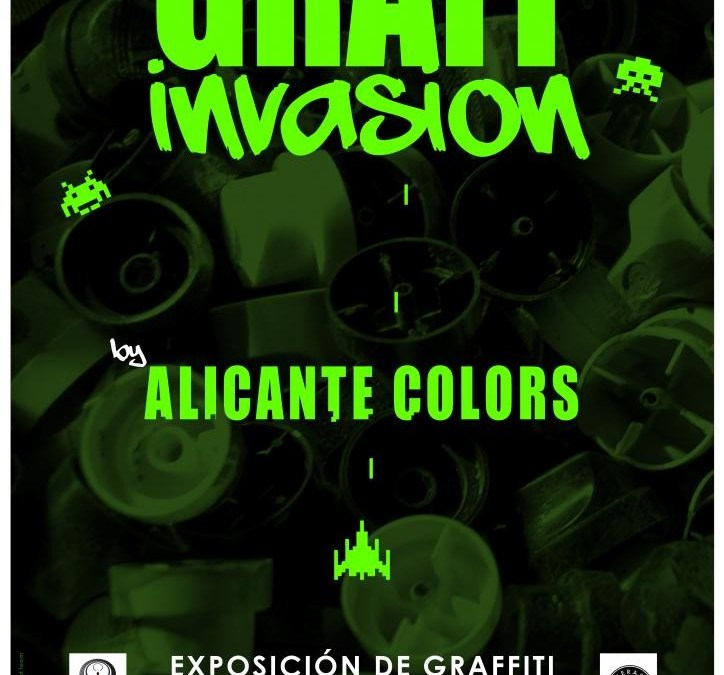 GRAFF INVASIÓN EXPOSICIÓN DE GRAFFITI EN LAS CIGARRERAS
