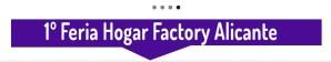 1a Feria Hogar Factory Alicante en el ADDA @ ADDA Alicante | Alicante | Comunidad Valenciana | España