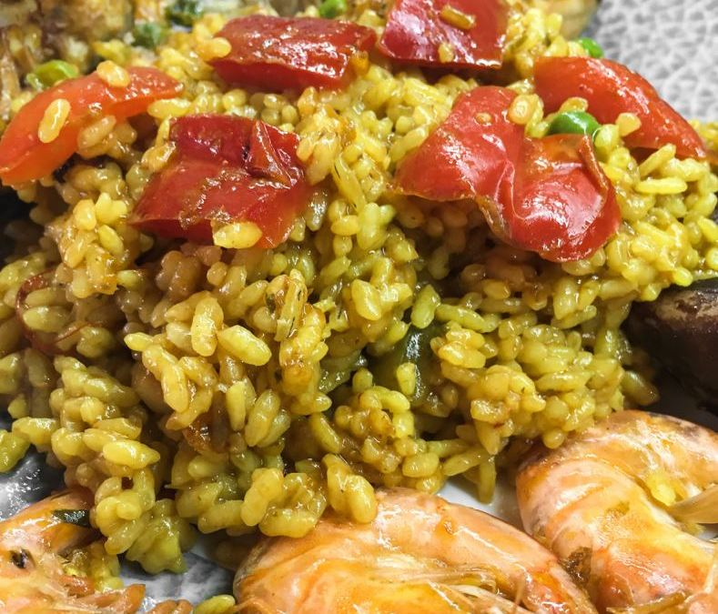 "Recipe Arroz a la alicantina ""Alicante-style rice"""