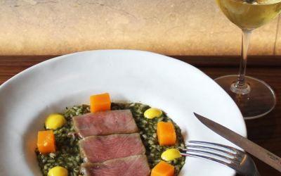 Receta de Arroz meloso con ventresca de atún rojo