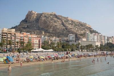 Playa del Postiguet, Alicante (Spain)