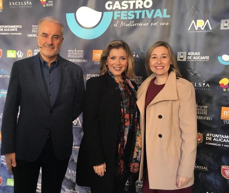 La Vicealcaldesa y la concejala de Hostelería inauguran la I edición del 'Alicante Gastro Festival' con una mesa redonda sobre el valor del Mediterráneo en nuestra identidad gastronómica