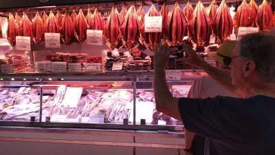gastronomía producto local mercado central salazones