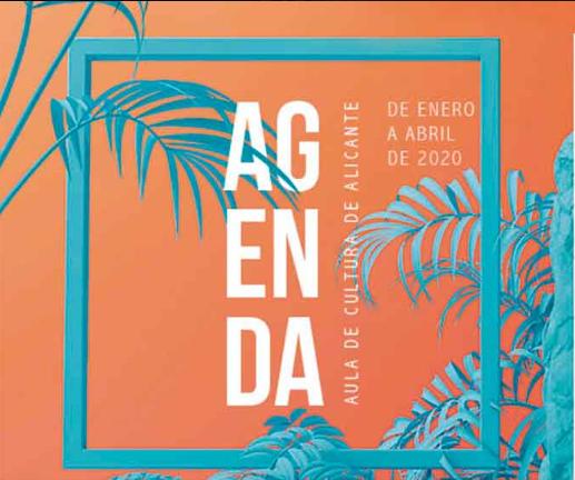 AGENDA DE EVENTOS DE AULA FUNDACIÓN CAJA MEDITERRÁNEO 2020