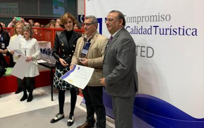 La Secretaría de Estado de Turismo distingue a un miembro del Patronato de Turismo de Alicante por su compromiso en la mejora del destino Alicante
