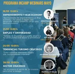 """Webinar """"Oportunidades de Emprendimiento en Blue Economy y pasos para desarrollar un Proyecto en el marco del Turismo de Cruceros"""""""
