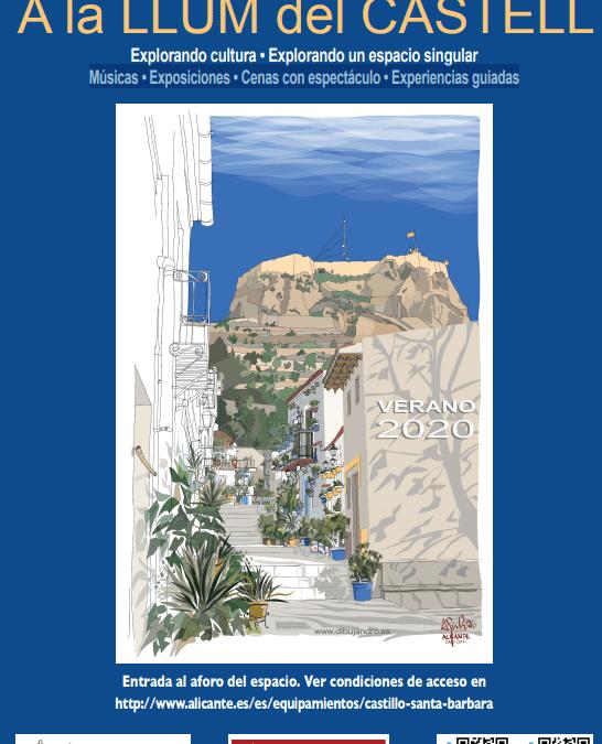 A LA LLUM DEL CASTELL ( Eventos en Castillo de Santa Bárbara)