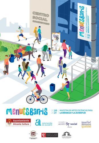 MENUTS BARRIS 2020 - 2021. ACTIVIDADES INFANTILES