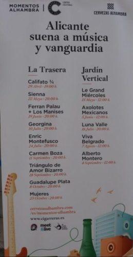CICLO DE CONCIERTOS: LAS CIGARRERAS Y MOMENTOS ALHAMBRA. @ CENTRO CULTURAL LAS CIGARRERAS   Alicante (Alacant)   Comunidad Valenciana   España