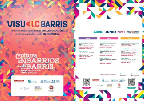 CULTURA EN BARRIOS ABRIL- JUNIO 2021 @ Alicante