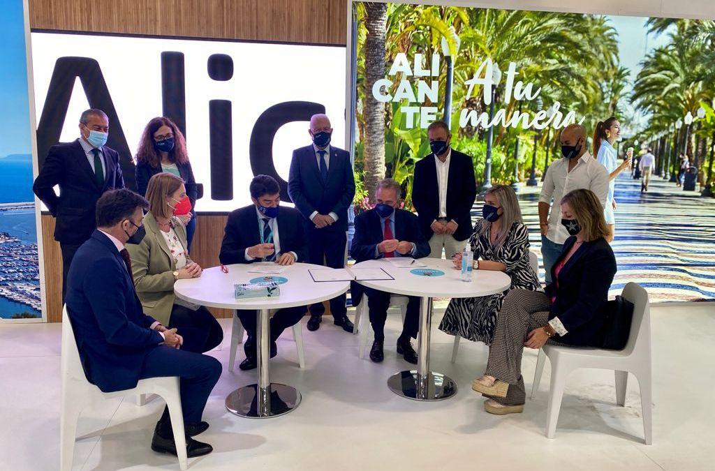 Alicante redobla su apuesta por el turismo de negocios en Fitur al incorporar la Plaza de Toros como espacio de congresos