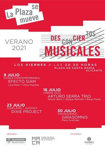LA PLAZA SE MUEVE. DESCONCIERTOS MUSICALES @ Alicante (Alacant) | Comunidad Valenciana | España