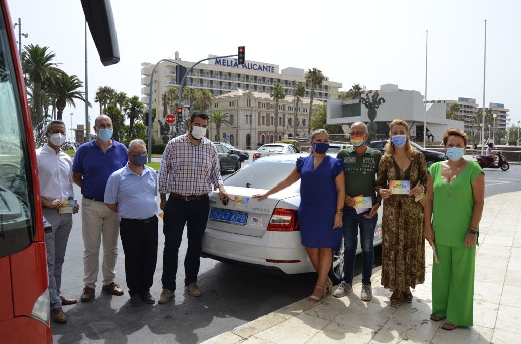 Arranca la semana del Orgullo 2021 con una campaña de visibilización en el transporte urbano
