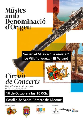 Musics amb denominació d'origen @ Castillo de Santa Bárbara   Alicante (Alacant)   Comunidad Valenciana   España