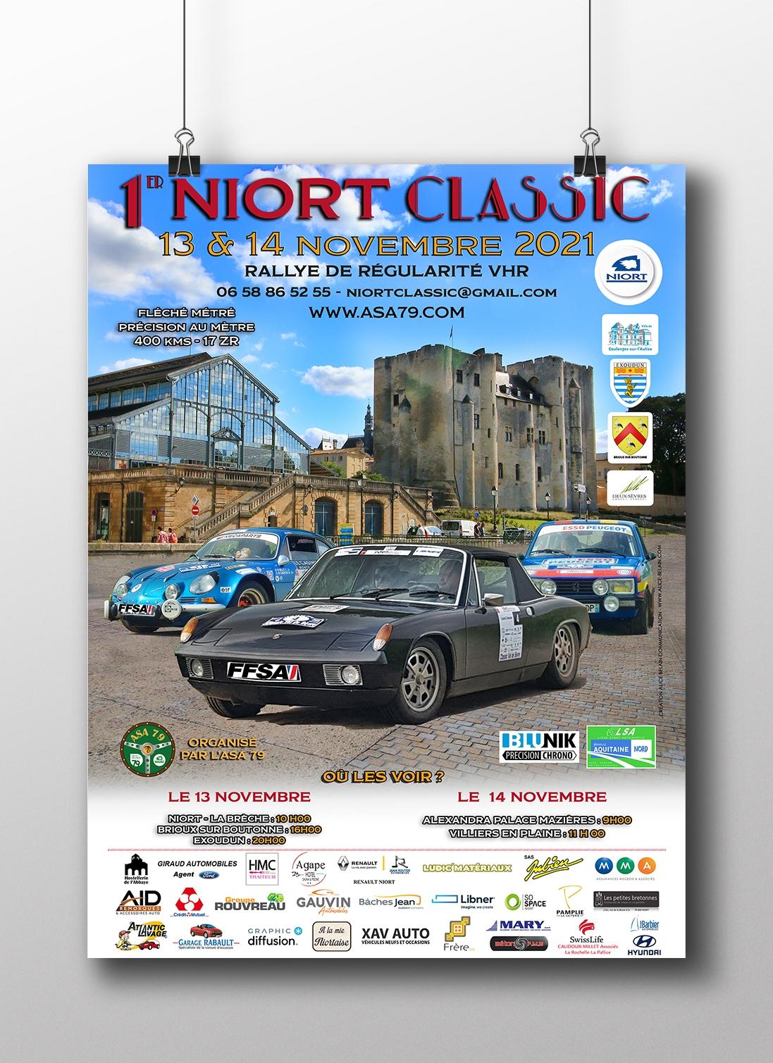 rallye Niort Classic 2021